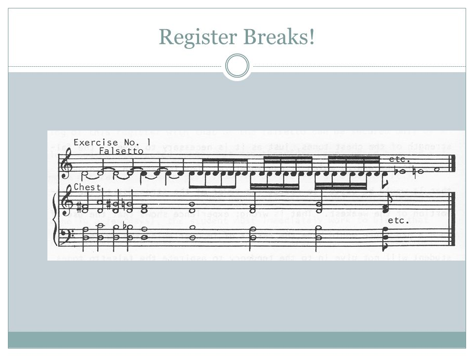 Register Breaks!