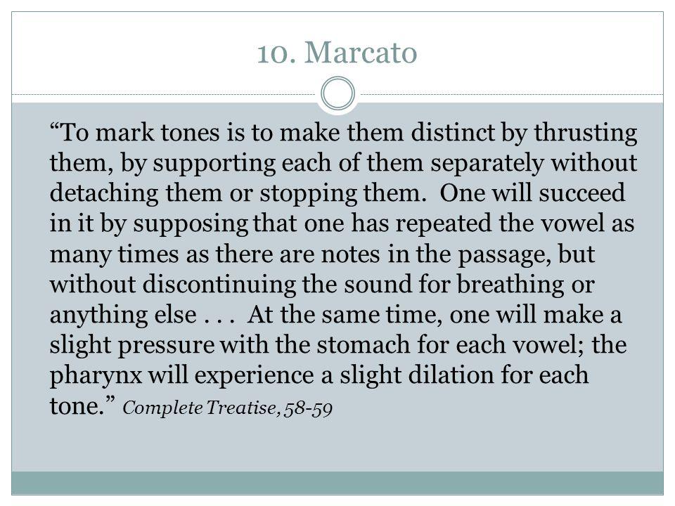 10. Marcato