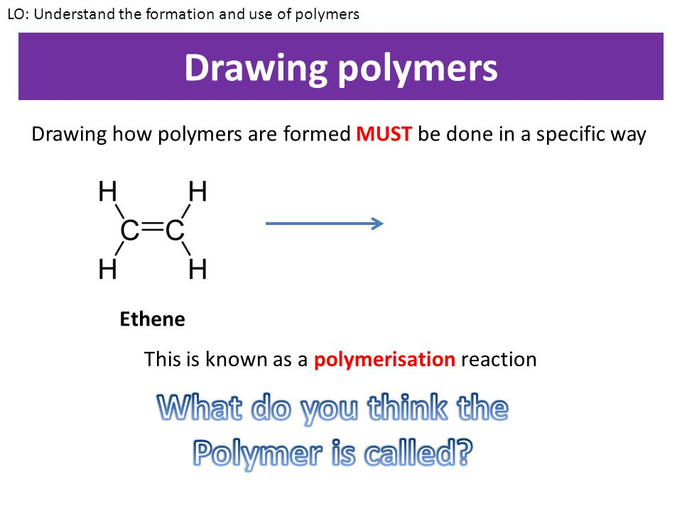 This is known as a polymerisation reaction