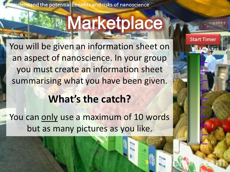 Marketplace What's the catch