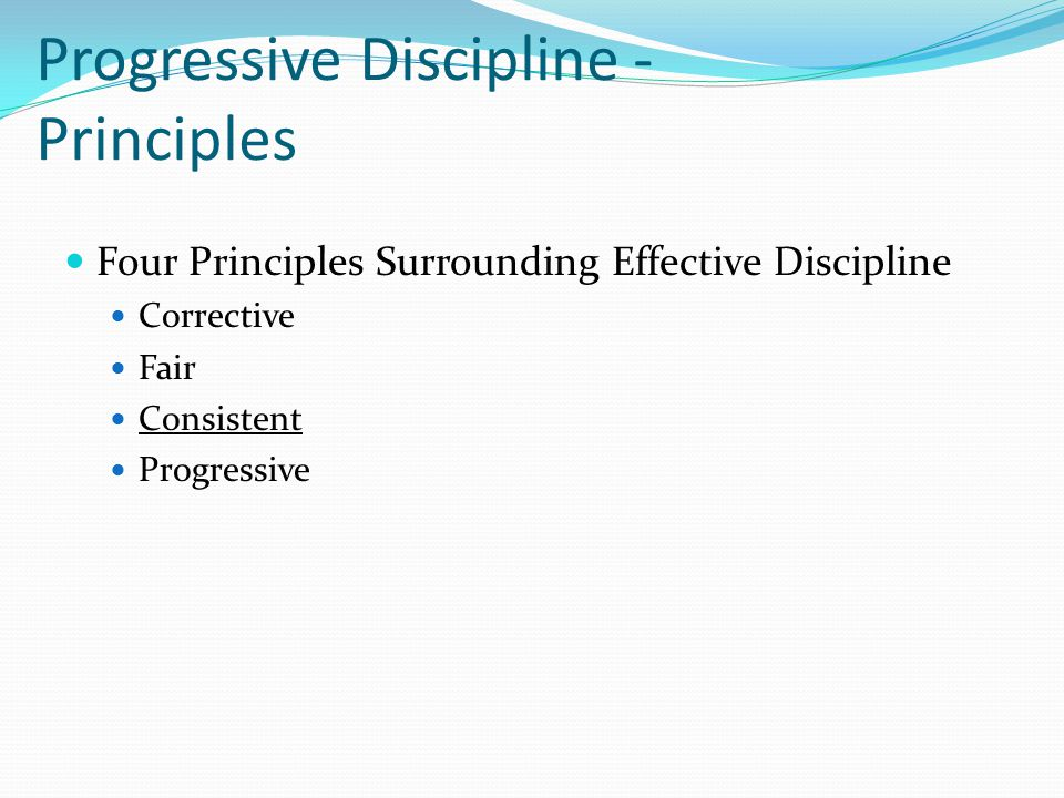 principles of discipline Guidance for implementation of executive order 13839 - promoting accountability and streamlining removal procedures consistent with merit system principles.