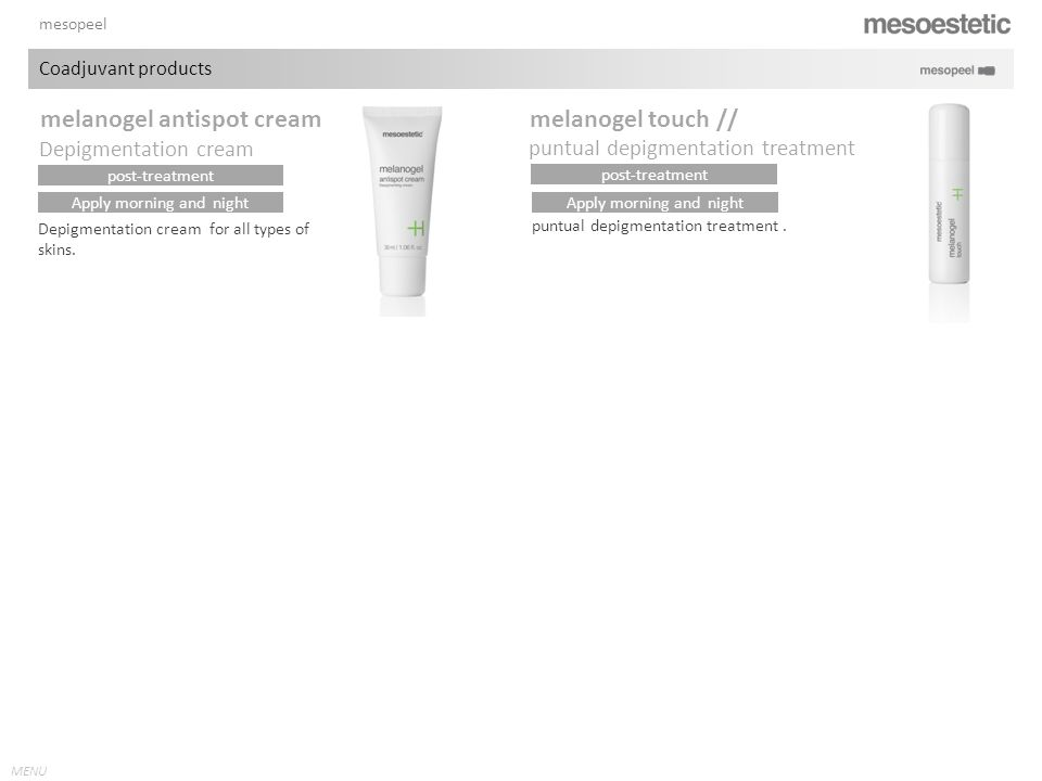 melanogel antispot cream melanogel touch //