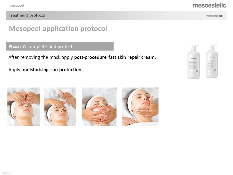 Mesopeel application protocol