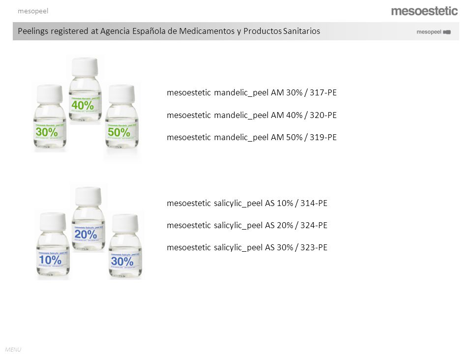 mesoestetic mandelic_peel AM 30% / 317-PE