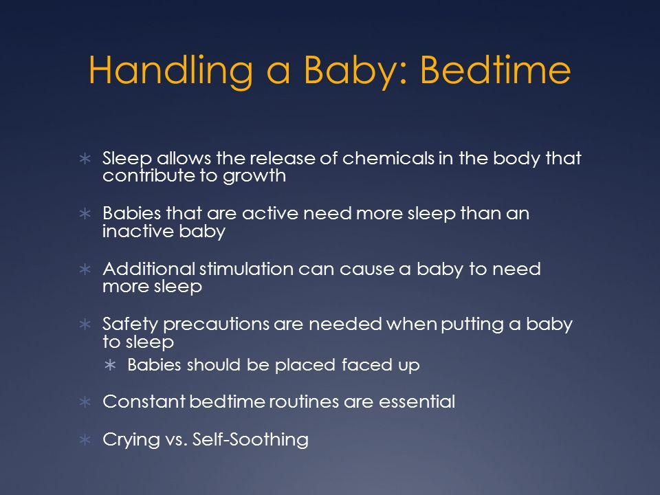 Handling a Baby: Bedtime