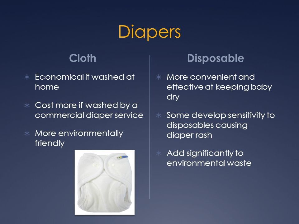 Diapers Cloth Disposable Economical if washed at home