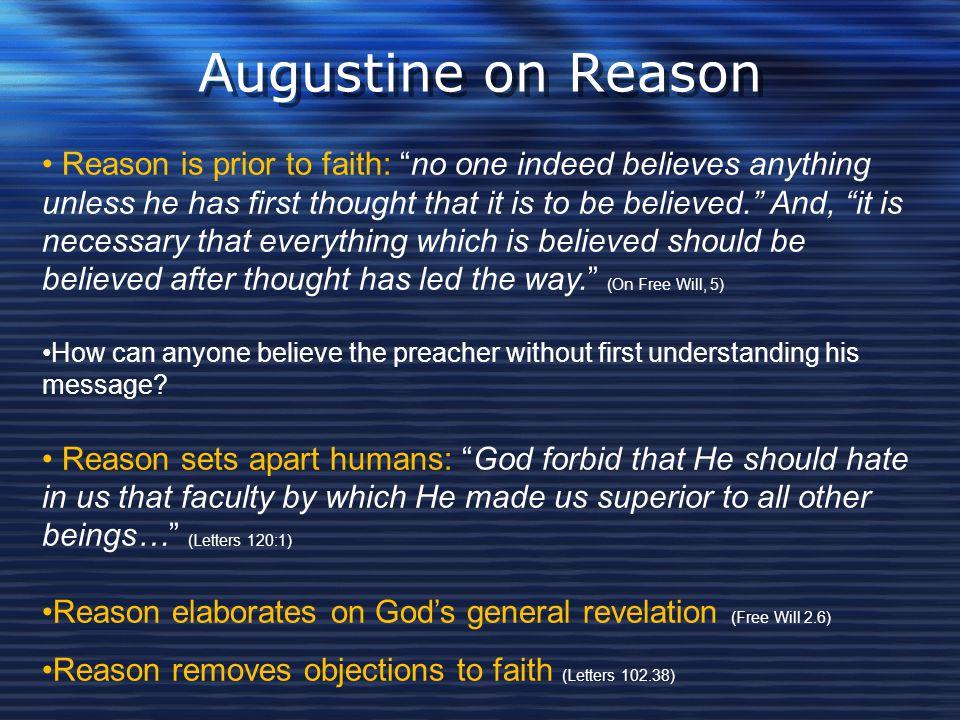 Augustine on Reason