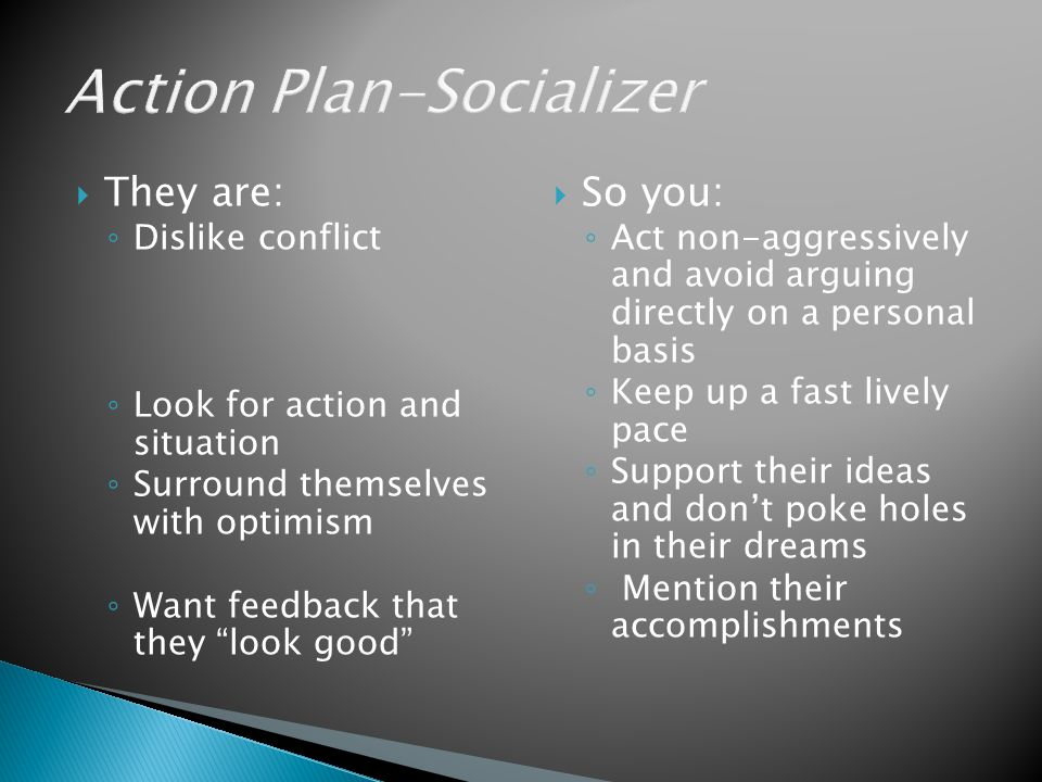 Action Plan-Socializer