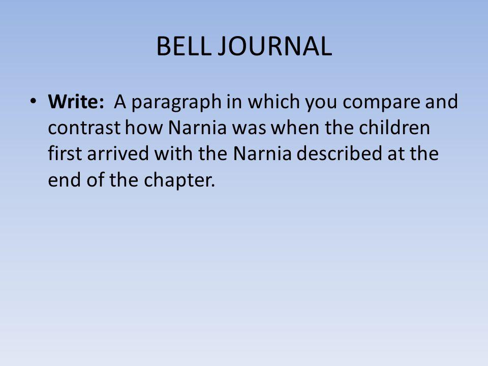 BELL JOURNAL