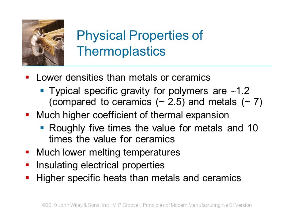 Physical Properties of Thermoplastics