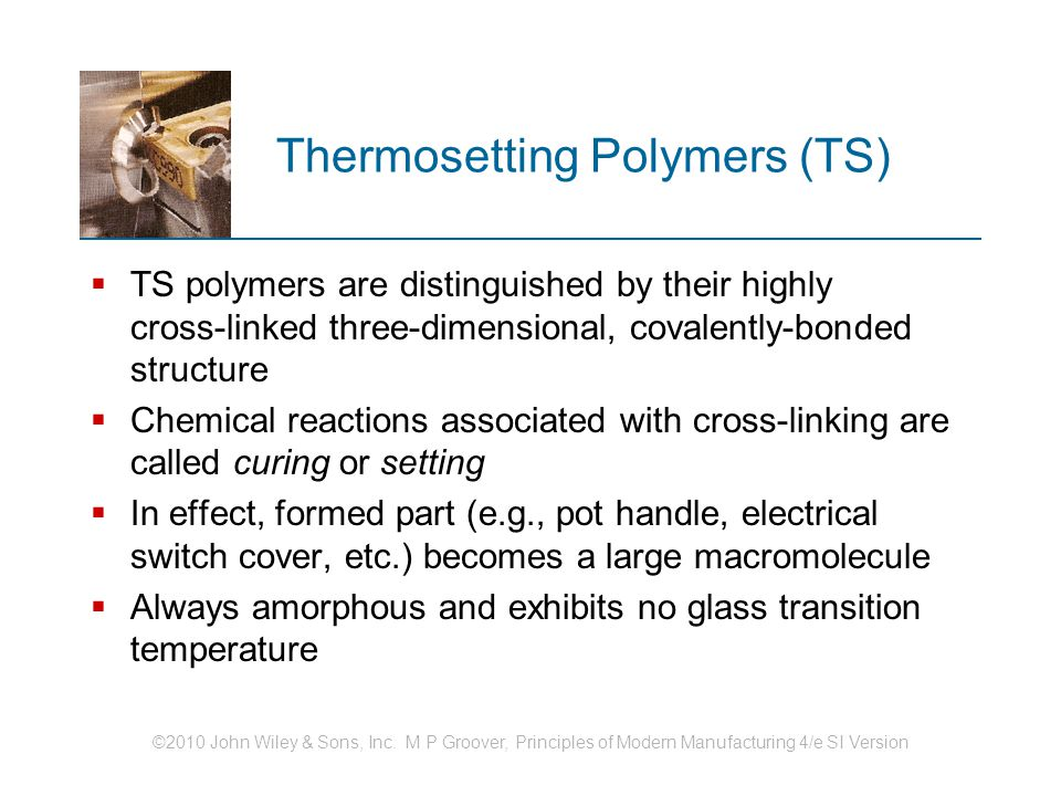 Thermosetting Polymers (TS)