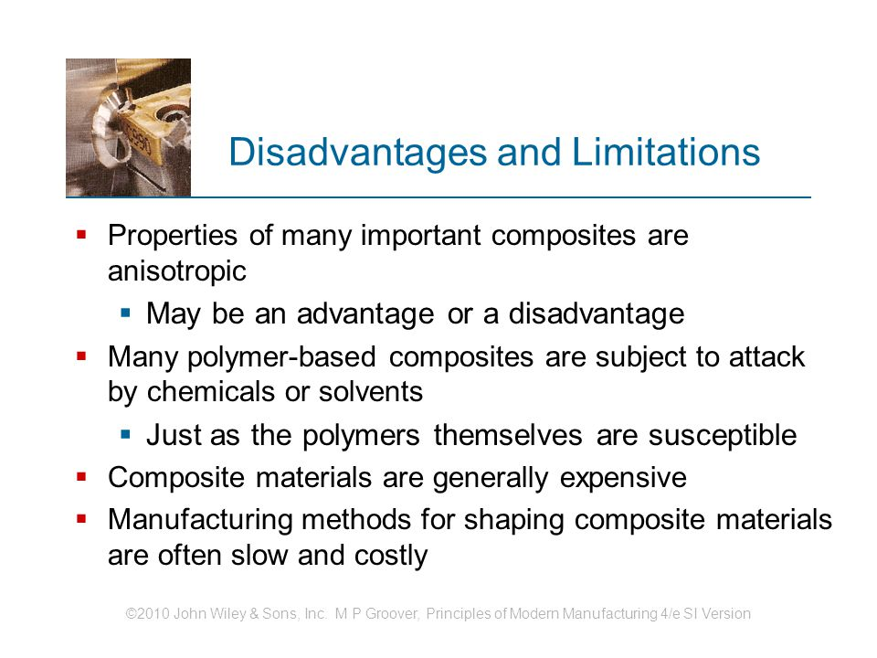 Disadvantages and Limitations