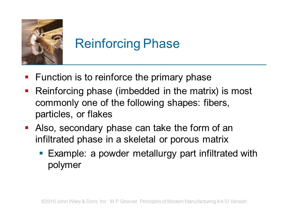 Reinforcing Phase Function is to reinforce the primary phase