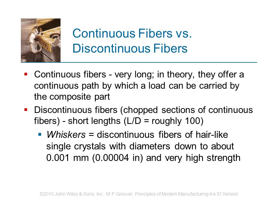 Continuous Fibers vs. Discontinuous Fibers