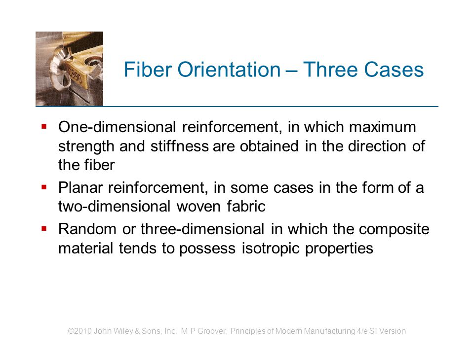 Fiber Orientation – Three Cases