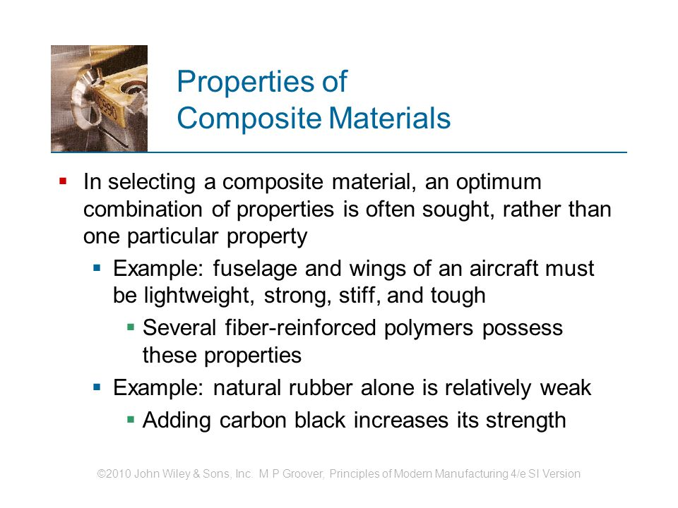 Properties of Composite Materials