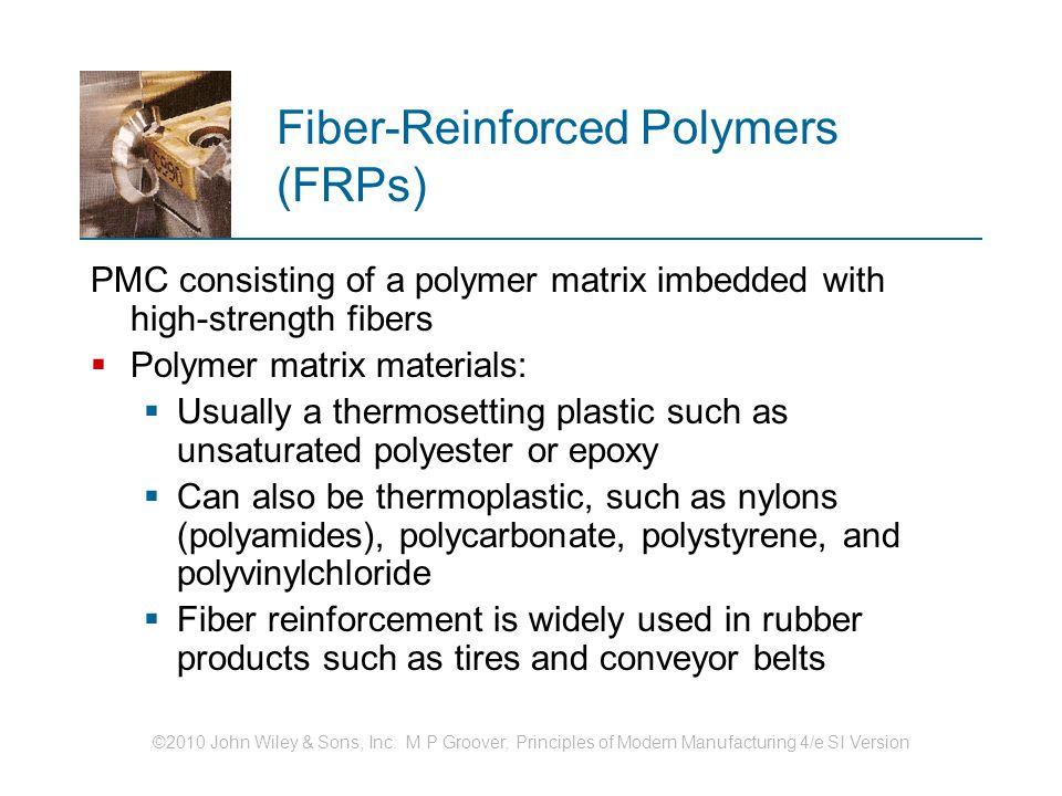 Fiber‑Reinforced Polymers (FRPs)