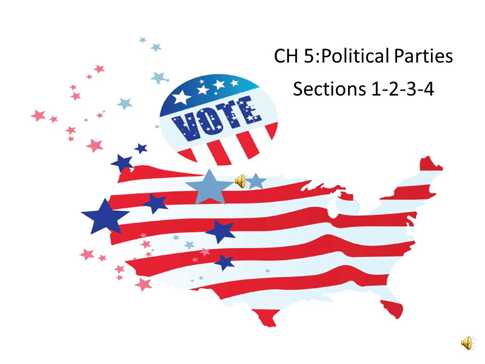 CH 5:Political Parties Sections 1-2-3-4