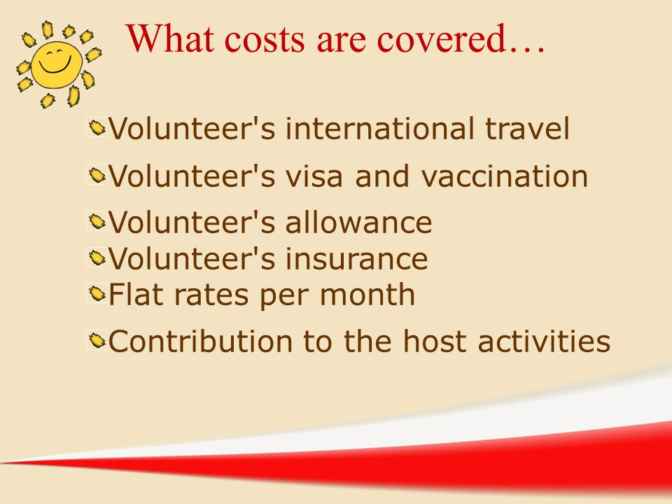 What costs are covered…