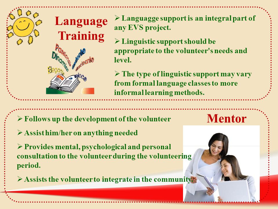 Language Training Mentor Mentor