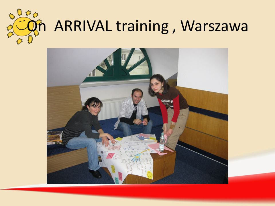 On ARRIVAL training , Warszawa