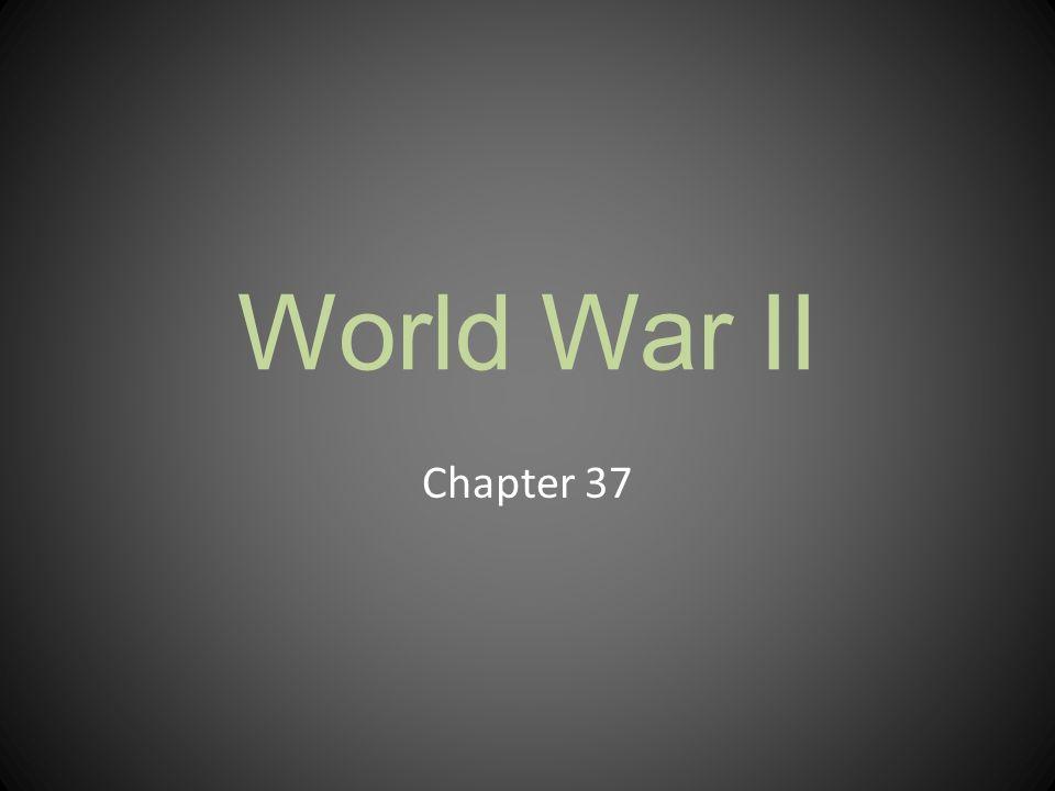 World War II Chapter 37