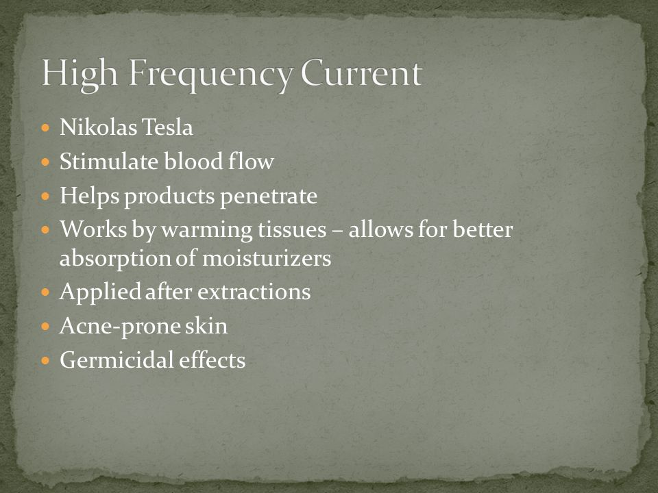 High Frequency Current
