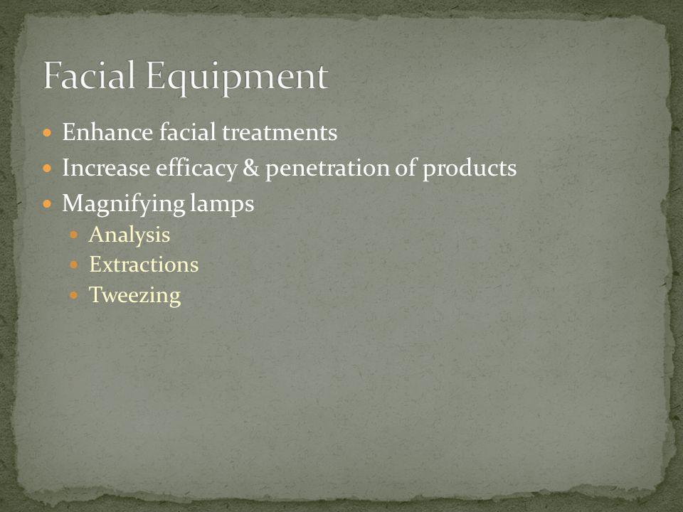 Facial Equipment Enhance facial treatments