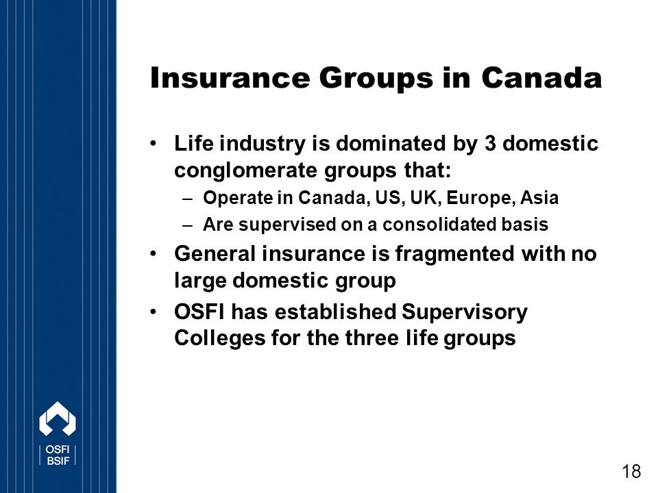 Insurance Groups in Canada