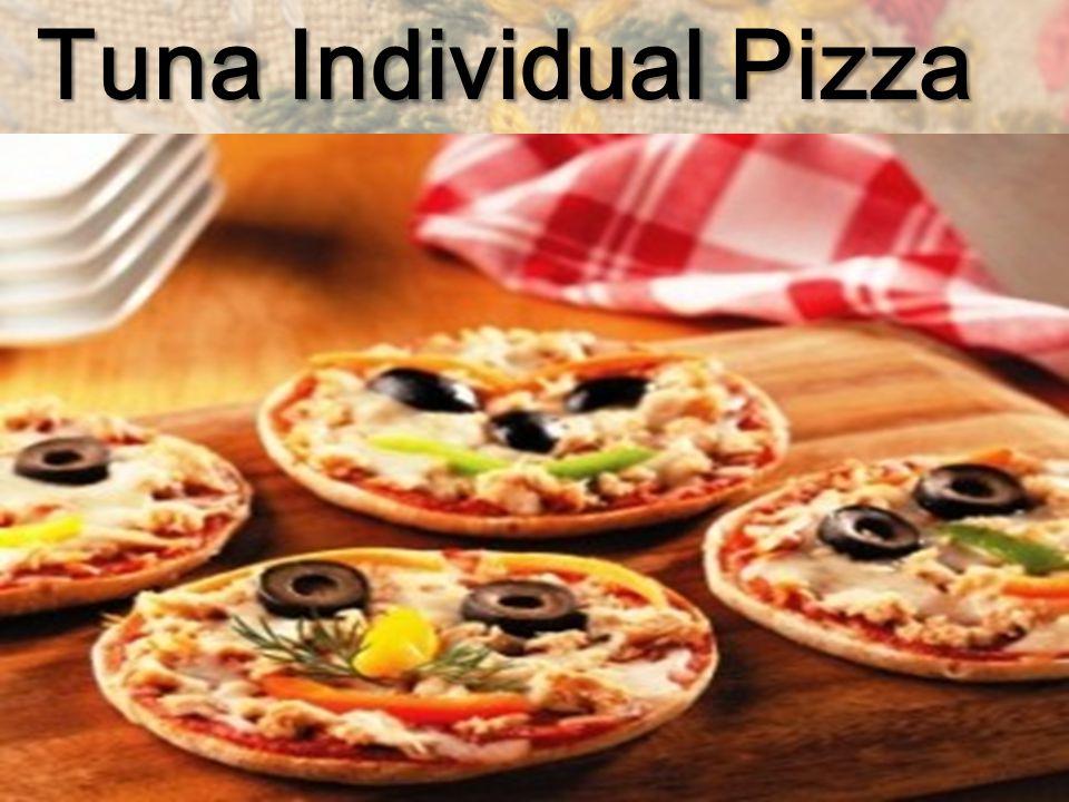 Tuna Individual Pizza