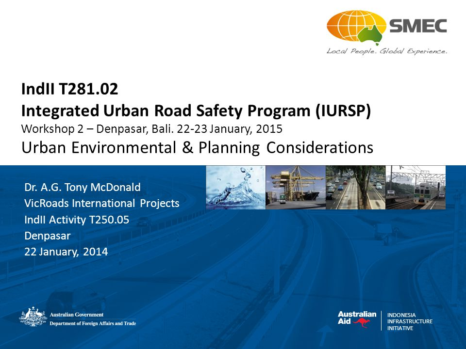 Integrated Urban Road Safety Program (IURSP)