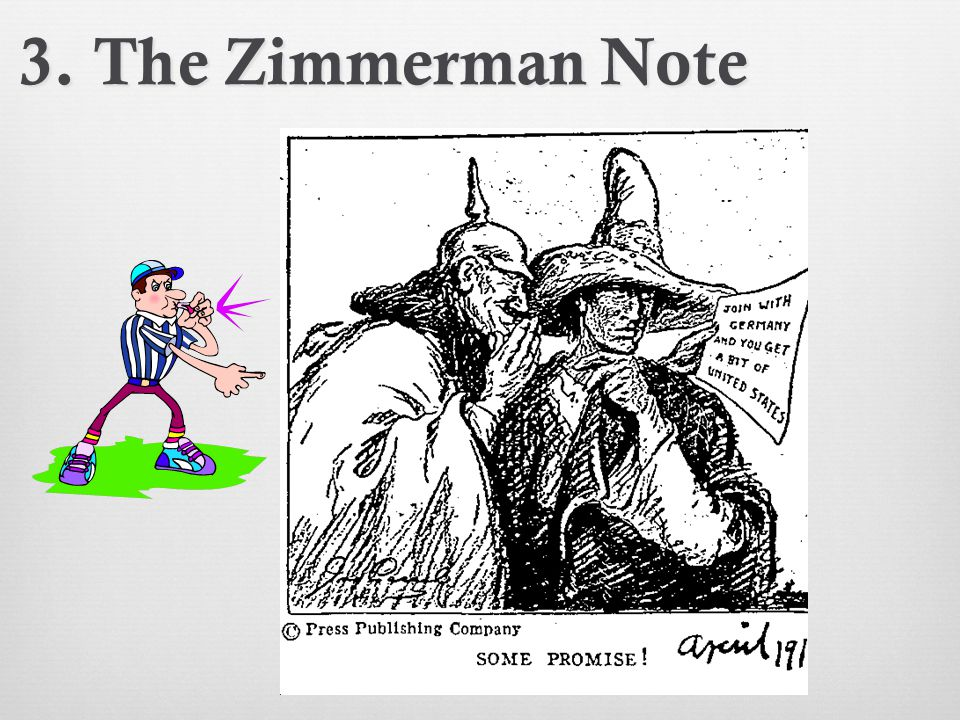 3. The Zimmerman Note