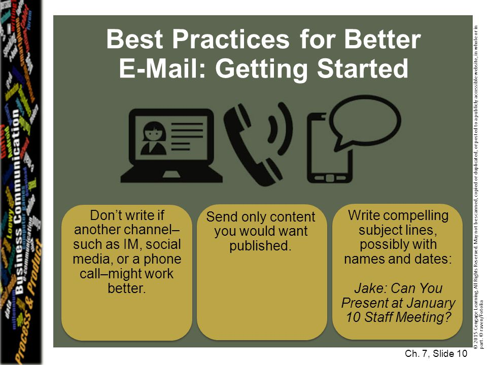 Best Practices for Better E-Mail: Getting Started