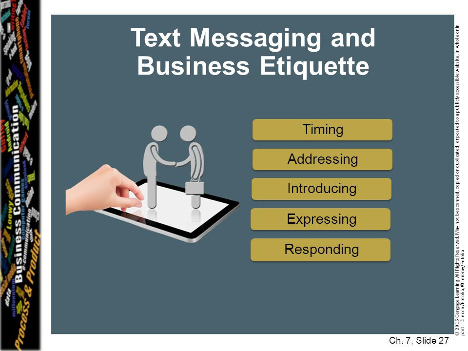 Text Messaging and Business Etiquette
