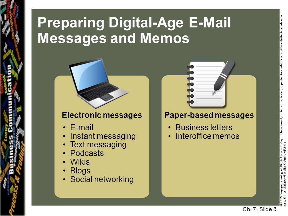 Preparing Digital-Age E-Mail Messages and Memos