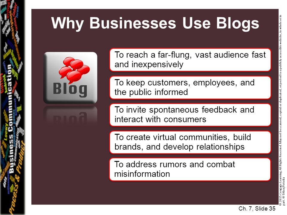 Why Businesses Use Blogs