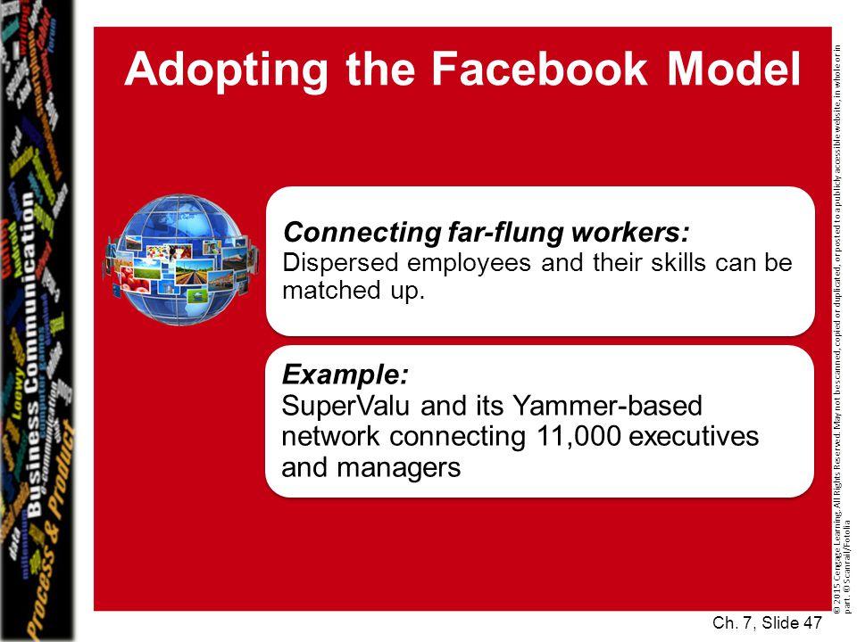 Adopting the Facebook Model