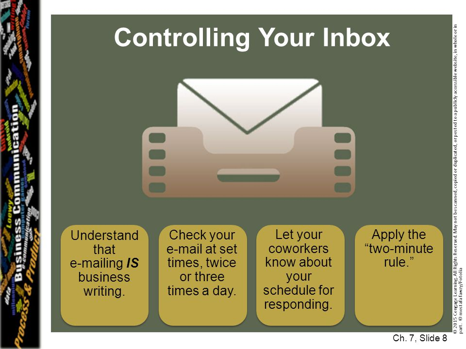 Controlling Your Inbox
