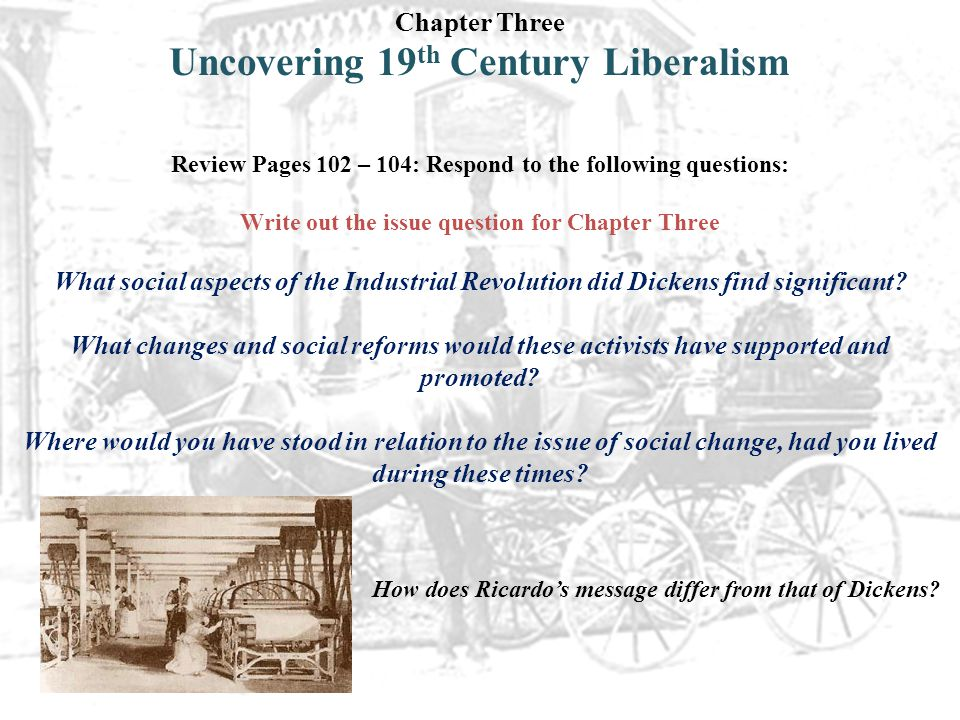 Uncovering 19th Century Liberalism