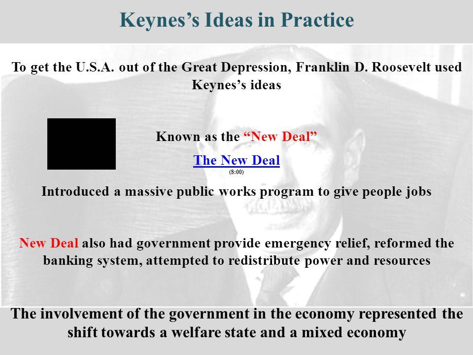 Keynes's Ideas in Practice
