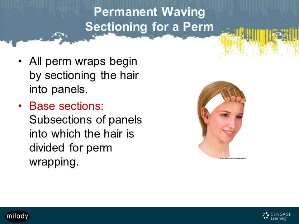 Permanent Waving Sectioning for a Perm