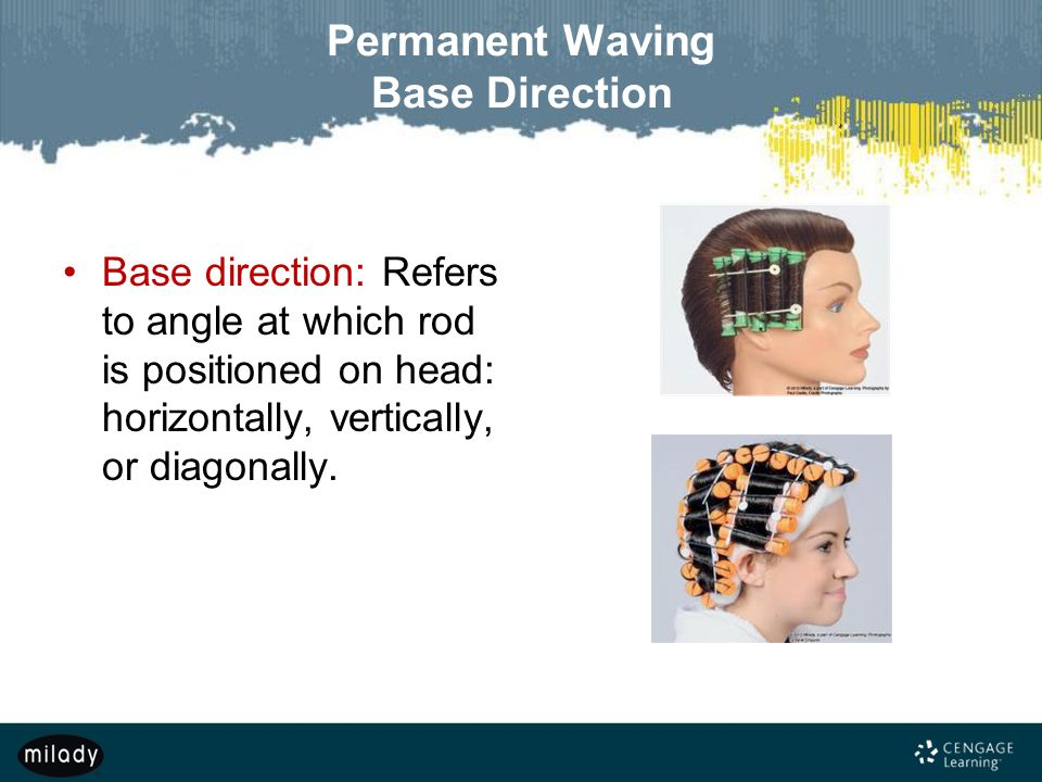 Permanent Waving Base Direction