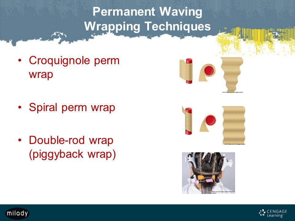 Permanent Waving Wrapping Techniques