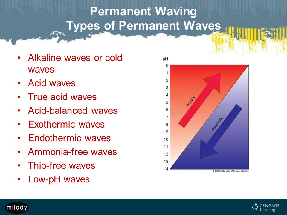 Permanent Waving Types of Permanent Waves