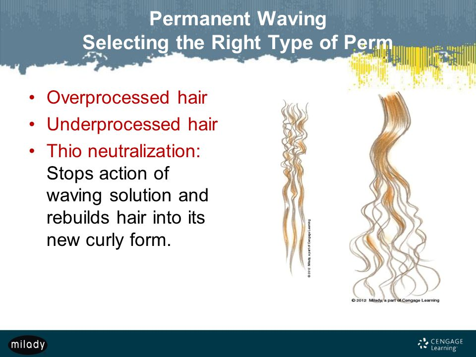 Permanent Waving Selecting the Right Type of Perm