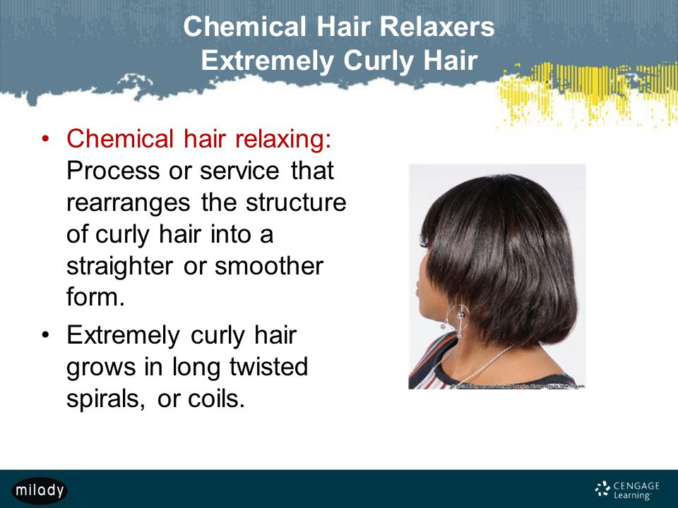 Chemical Hair Relaxers Extremely Curly Hair