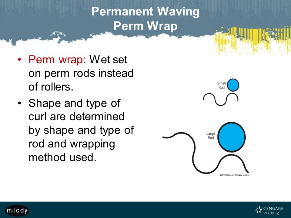 Permanent Waving Perm Wrap