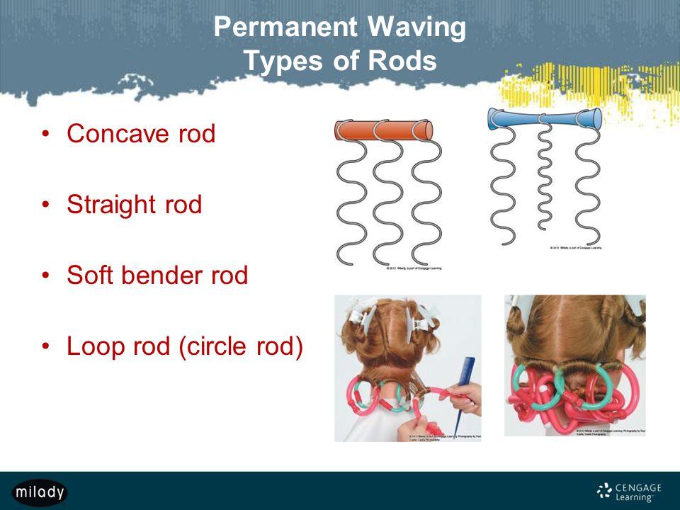 Permanent Waving Types of Rods