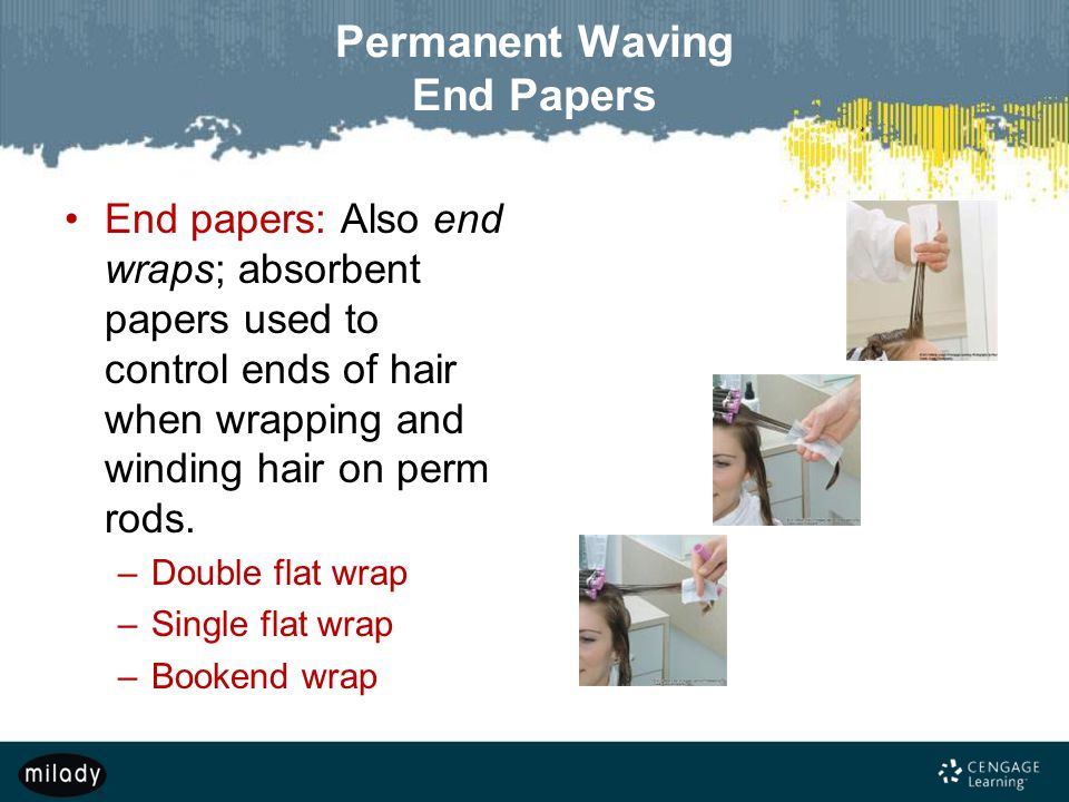 Permanent Waving End Papers