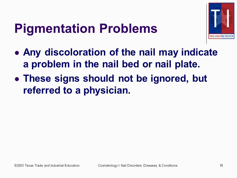 Pigmentation Problems